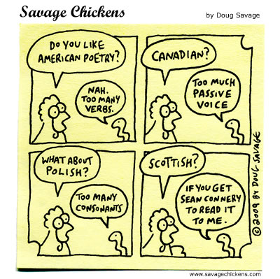 chicken poem cartoon