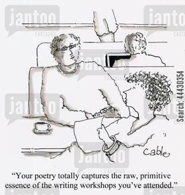 poetry cartoon writing workshops
